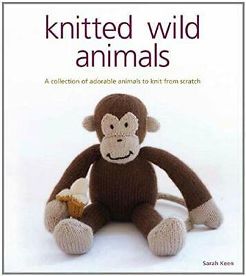Knitted Wild Animals by Sarah Keen Paperback Book The Cheap Fast Free Post