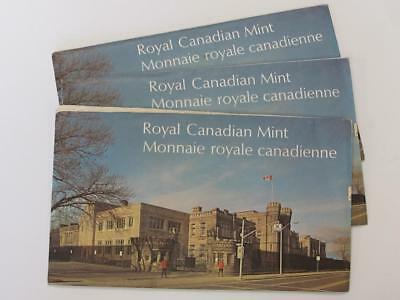 Lot Of 1973 Canada Mint Sets You Get All Three