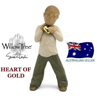HEART OF GOLD Demdaco Willow Tree Figurine By Susan Lordi BRAND NEW IN BOX