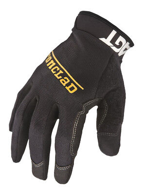 Ironclad  Black  Men's  Medium  Synthetic Leather  Work  Gloves
