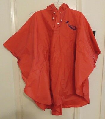 Unisex Heavy Duty Red Rain Coat One Size Fits All