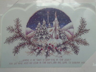 Light Of The World Janlynn Counted Cross Stitch Kit No 80176 New