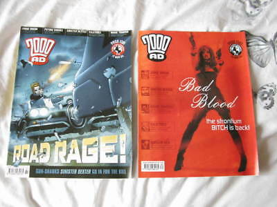 2000AD Prog 1381 & 1382  Mar 2004 Judge Dredd & More – VF/F