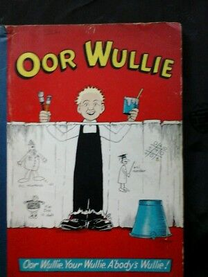 Oor Wullie, early annual for 1959, good condition.