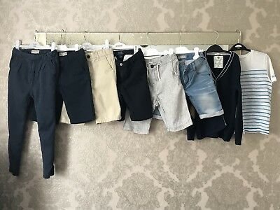 Boys Zara /Hugo Boss Holiday Bundle - Shorts, Trousers, Cardigan, T-shirt Age 7