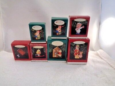 Lot Of 8 Hallmark Keepsake Ornament Yogi Bear, Speedy Gonzales Porky Pig & More