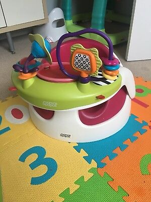 Bumbo Seat With Tray And Safari activity Play Tray Complete Set!