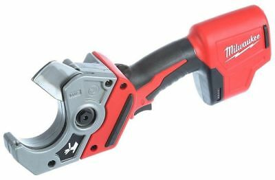 PVC Shear Cordless 12-Volt Lithium-Ion Pipe Cable Cutter Plastic Milwaukee Tool