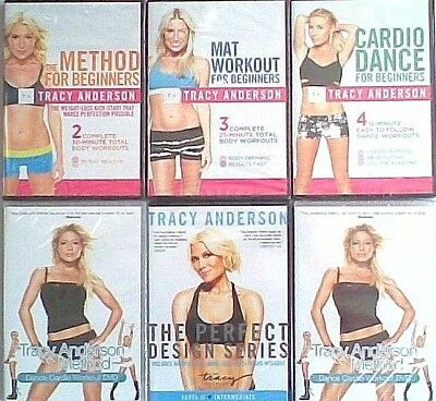 TRACY ANDERSON Dance - Body - Weight Loss - WORKOUTS Fitness Exercise DVD