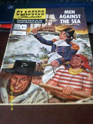Classics Illustrated/Men Against The Sea No 153,from Strato