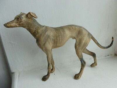 vintage cold painted bronze whippet