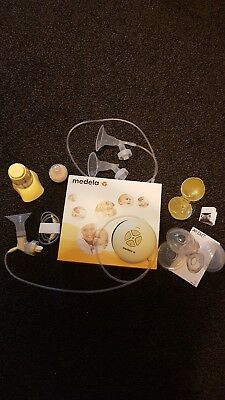Medela swing single electric breast pump with Calma and extras