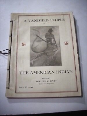 1924 A Vanished People The American Indian William C. Hart Newburgh NY Magazine