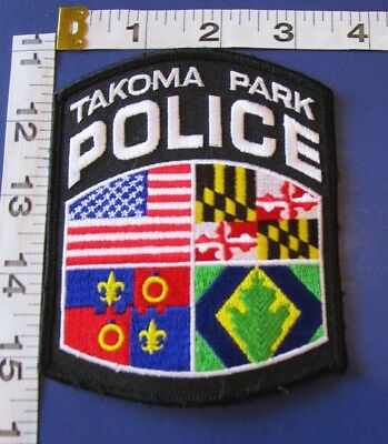 Tacoma Park Maryland Police  Shoulder Patch