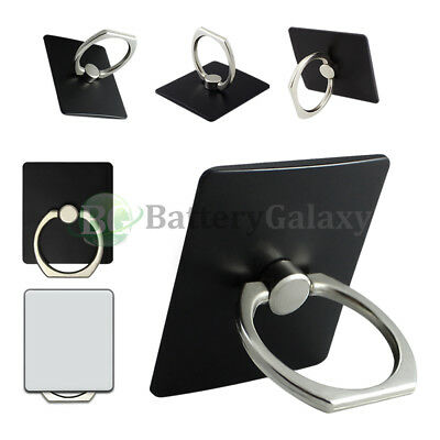 100X Universal 360° Rotating Finger Ring Stand Phone Holder For iPhone Samsung