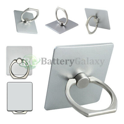 100X Universal 360° Rotating Ring Finger Stand Phone Holder For iPhone Samsung