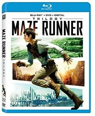 Maze Runner Trilogy [New Blu-ray] With DVD, Widescreen, Digitally Mastered In