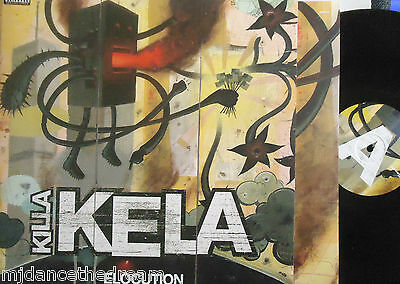 KILLA KELA - Elocution ~ GATEFOLD 2 x VINYL LP PROMO