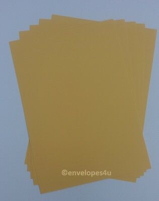 A4 Maize 240gsm card - cardmaking, papercraft, wedding invitations, printing