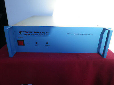Telonic Berkeley Digitally Tunable Bandpass System TCS2-1500-5-5G1