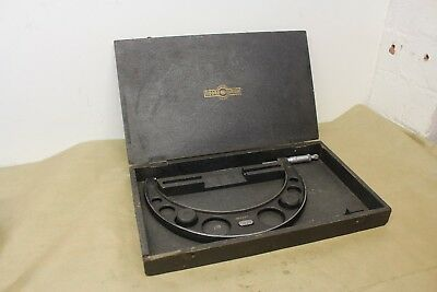 """Moore & Wright No. 971 8 - 9"""" External Outside Micrometer ME1512"""