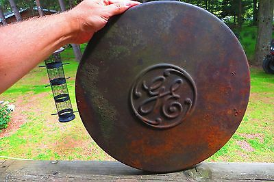Ge General Electric Cast Iron Wall Hanging Part No Sign