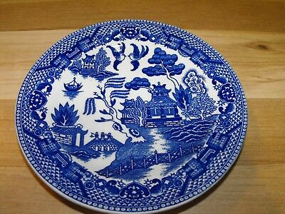 Vintage Japan Blue Willow Bread Plate