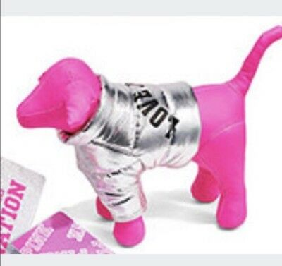 Victoria's Secret PINK 2017 MINI DOG w/ Jacket, LIMITED EDITION,New