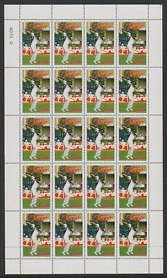 St Vincent Grenadines - 1988, $1.25 C.H Lloyd Cricketer sheetlet - MNH - SG 576