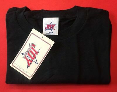SURGE SODA POP Shirt Brand Vtg 1990's NHL Hockey Puck Black NEW NWT Defunct Coke
