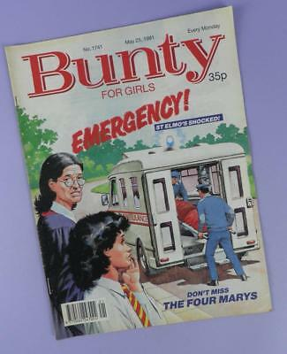 Bunty Comic Number 1741, May 25th 1991 Includes Patrick INXS Poster