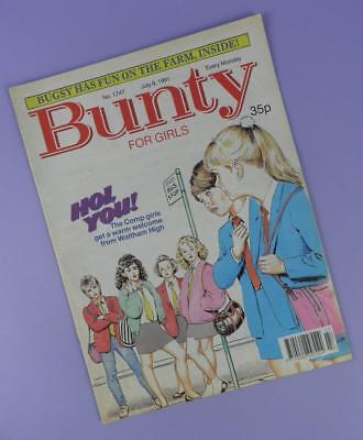 Bunty Comic Number 1747, July 6th 1991 Includes Tom Hanks Poster