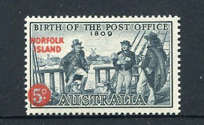 1959 Norfolk Island 150th Anniversary of Australian Post Offices - MUH 5d Stamp