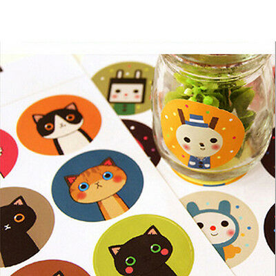 36pcs/lot Cute Cat&Doll Paper Sticker Decoration Decal DIY Album Scrapbooking DS