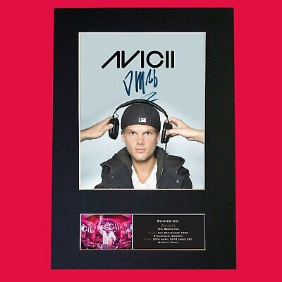 AVICII (DJ Remixer) Quality Autograph Mounted Signed Photo Repro Print A4 744