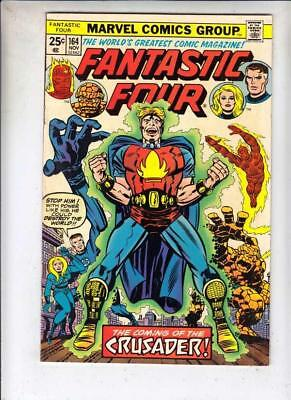 Fantastic Four  # 164  strict  FN/VF  1st   appearance  The Crusader