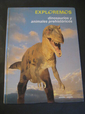 Book Dinosaurs And Animals Prehistoric. Edelvives 1992