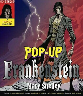 Frankenstein (Pop Up Classics) by Hawcock, Claire Hardback Book The Cheap Fast