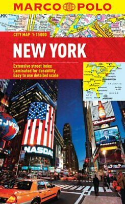 New York Marco Polo City Map (Marco Polo City Maps) by Marco Polo Book The Cheap