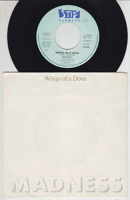 MADNESS * Wings of a Dove * 1980 German 45 * SKA REVIVAL *