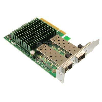 Supermicro Ethernet Adapter DP 10GbE SFP+ PCI-E LP - AOC-STGN-i2S REV: 2.00