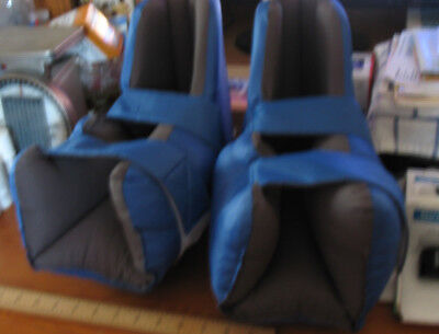 New Medline Heel Lifter Bed Boots Protect Feet Elevate When Confined to Bed
