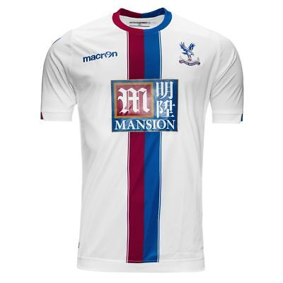 Crystal Palace Macron 2015-16 Away Shirt In Adult Eu Sizes S, M, L, & Xl *bnwt*