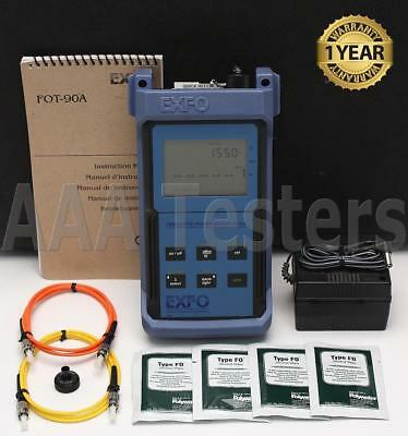 EXFO FOT-92AX SM MM Fiber Optic Power Meter FOT-90 FOT92AX FOT-90A