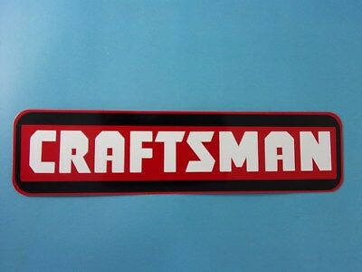Craftsman Mechanic Aluminum Sign Power Tools Toolbox Man Cave USA Made