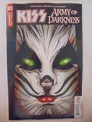 Kiss Army of Darkness #3 B Cover Dynamite NM Comics Book