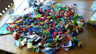 huge LOT 5 pounds KINDER SURPRISE EGGS 15  years of collecting