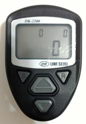 LINE SEIKI multi-function Electronic Hand-Held Tally Counter DK-2300 U.S. SELLER