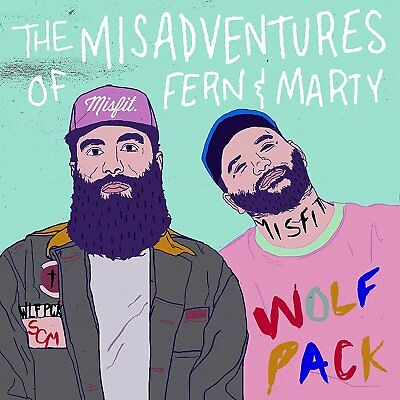 Social Club Misfits - The Misadventures of Fern & Marty CD 2017 ** NEW **