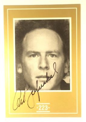 ART GARFUNKEL SIGNED FACE-TO-FACE CELEBRITY GAME CARD w/ COA & MYSTERY GIFT